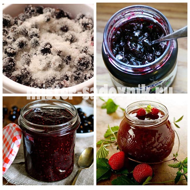 ягоды в сахаре на зиму
