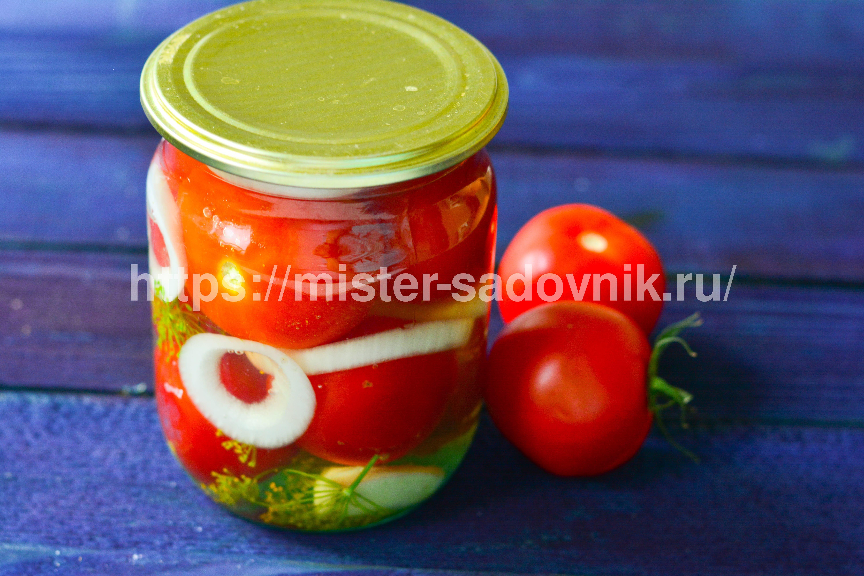 помидоры в желе на зиму