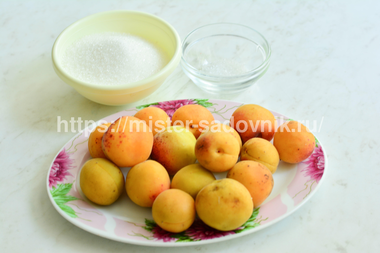 джем с абрикосами