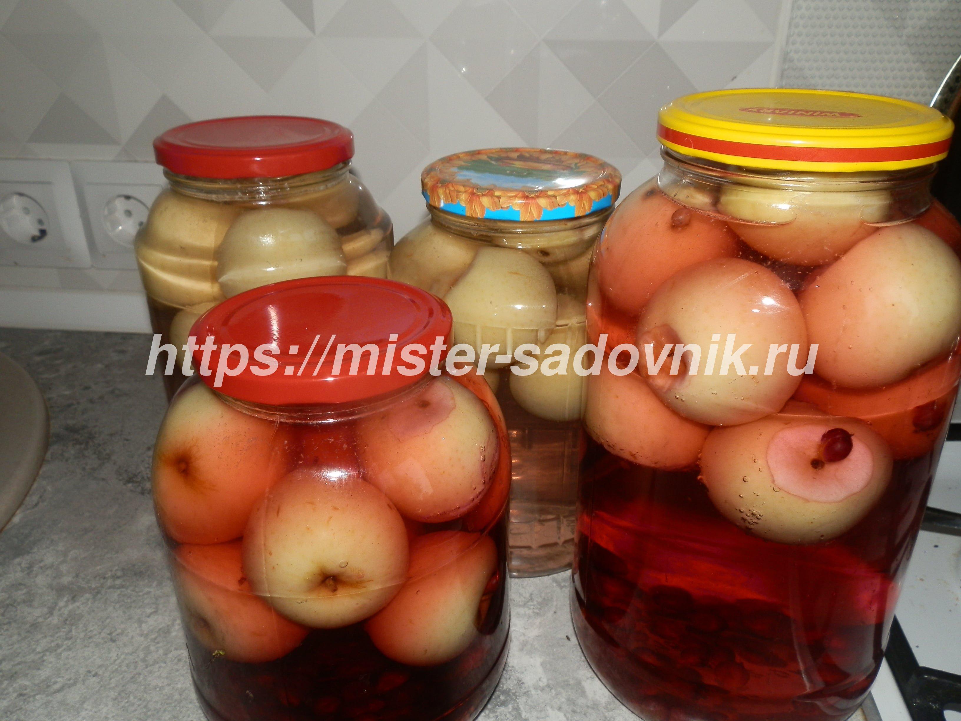 Варенье и компот из яблок — photo 5